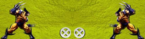 cenefas adhesivas decorativas wolverine - x men