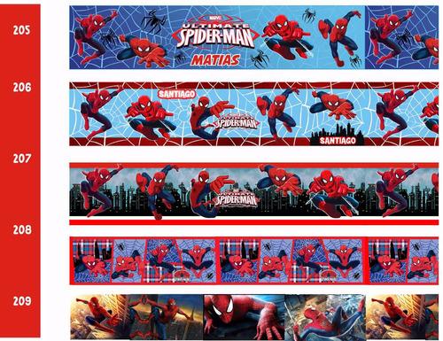 cenefas decorativas adhesivas  cars avengers spiderman hulk