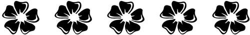 cenefas decorativas florales