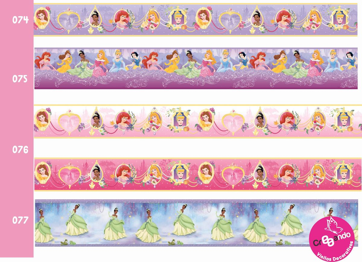 Cenefas decorativas princesas frozen hadas unicornios en mercado libre - Cenefas decorativas infantiles ...