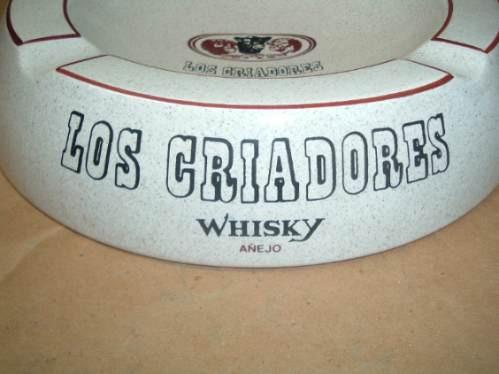 cenicero barra antiguo whisky criadores retro 70 en la plata