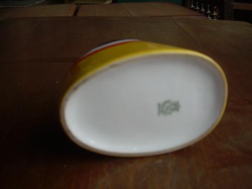 cenicero bavaria de porcelana antiguo