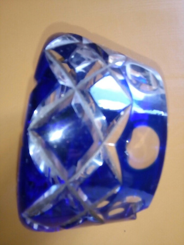 cenicero cristal antiguo