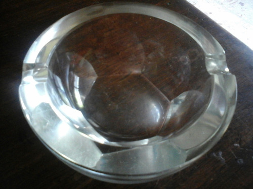 cenicero cristal retrovintage