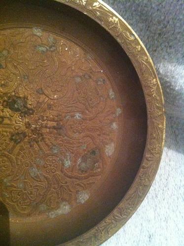 cenicero de bronce