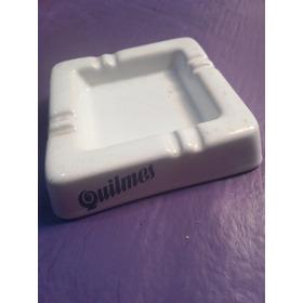 Cenicero De Ceramica De Quilmes Blanco