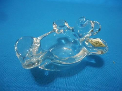 cenicero de cristal francés