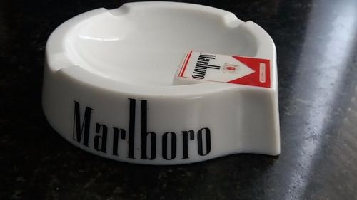 cenicero de opalina francesa publicidad marlboro