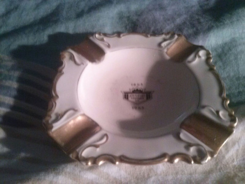 cenicero de porcelana marca alka bavaria