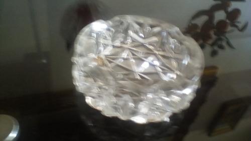 cenicero en cristal de bohemia