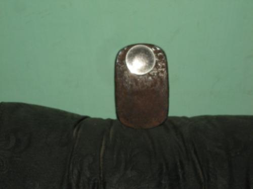cenicero fusca oval