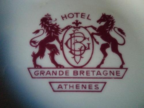 cenicero loza griego