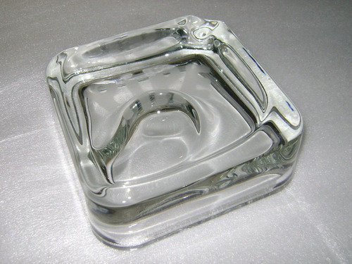cenicero para pipa en cristal inglés - no envío