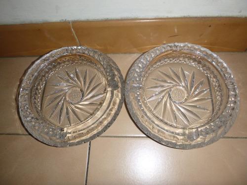 ceniceros de cristal de bohemia grande