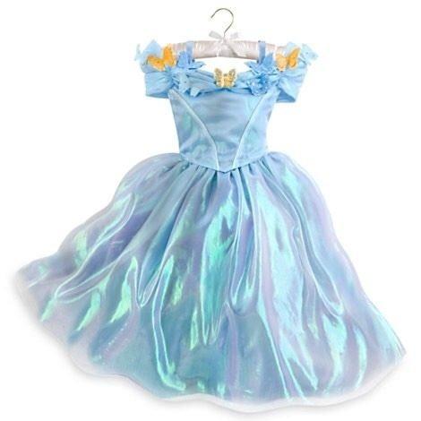 Cenicienta Cinderella Disfraz Talla 4 Deluxe Disney Store - S  200 ... f55c81441351