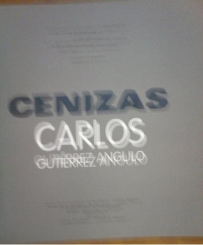cenizas, catálogo, carlos g. ángulo,2009, 75p.20x20 cm.color