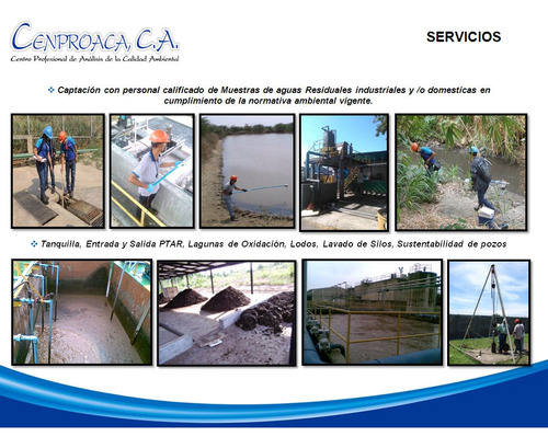 cenproaca, c.a laboratorio de análisis de aguas