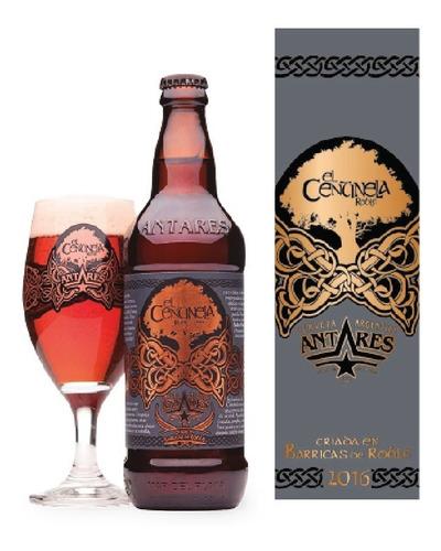 centinela cerveza artesanal antares botella 500ml  caja x 6