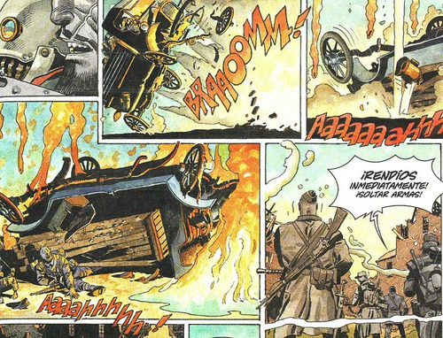 centinelas enrique breccia - primera guerra mundial comic