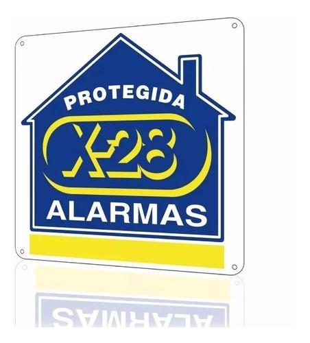 central alarma casa x-28 2 zonas 6002w inalambrica