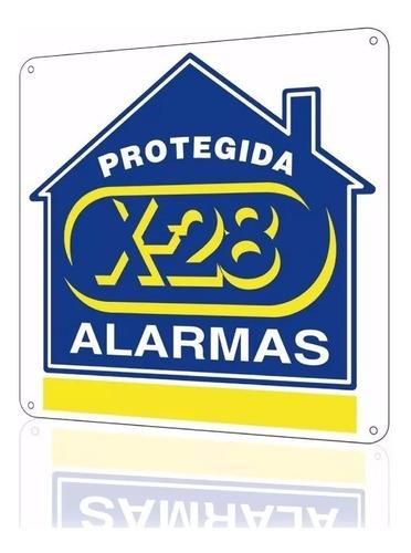 central alarma domiciliaria x-28 4 zonas n4-mpxh