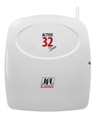 central alarme jfl active 32 duo monitore via celular