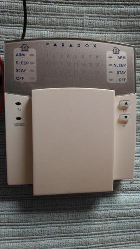 central alarme paradox spectra sp6000 +  teclado k32