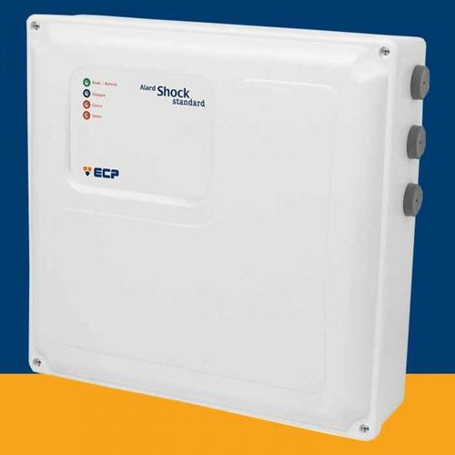 central cerca elétrica alard shock ecp + alarme + controle