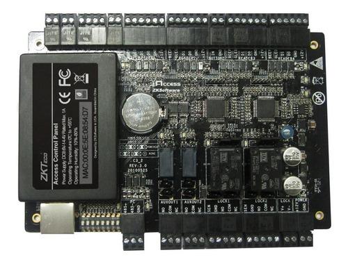 central control de accesos con lectores zkteco (c3400)