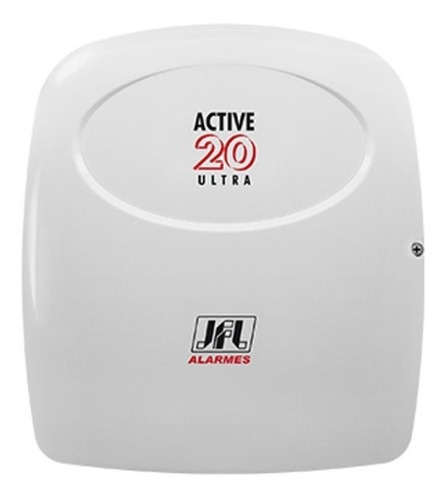 central de alarme jfl active 20 ultra modular teclado lcd