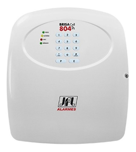 central de alarme jfl brisa cell-804 gsm com discadora