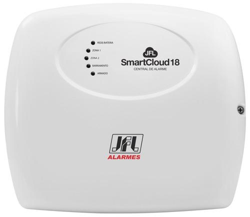 central de alarme jfl smartcloud18 com modulo me-04 ethernet