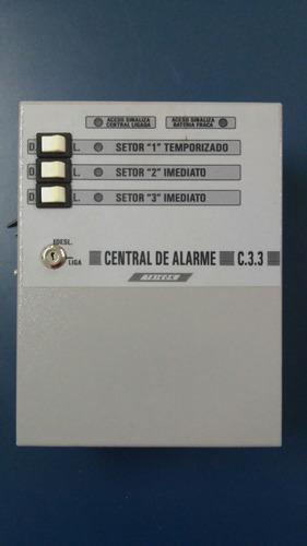 central de alarme microcontrolada taikon c 3.3