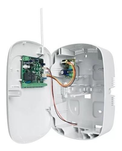 central de alarme monitorada intelbras 8 zonas - amt2008 rf