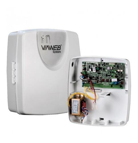 central de alarme viaweb vw10 smart caixa abs