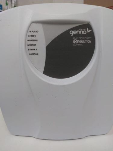 central de cerca elétrica genno revolution control + sirene