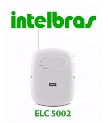central de choque intelbras elc 5002 c/ controle remoto