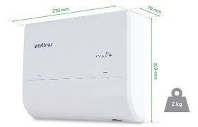 central de telefonia modulare mais intelbras (2x4)
