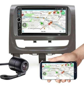 Central Mp5 Strada/palio Espelhamento Bluetooth Câmera Ré