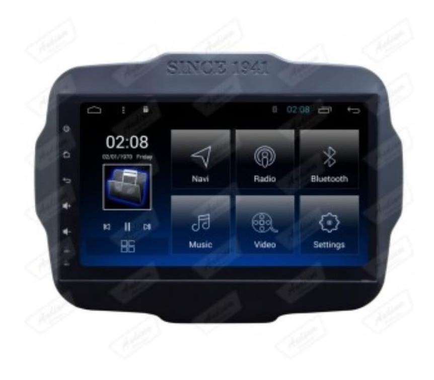 Central Multimedia Jeep Renegade/ Fiat Toro Android