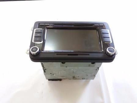 central multimída / aparelho som vw tiguan original
