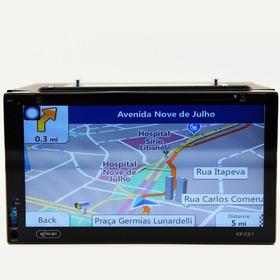 Central Multimídia  Duster Tv Gps Blue Espelh Dvd Cd