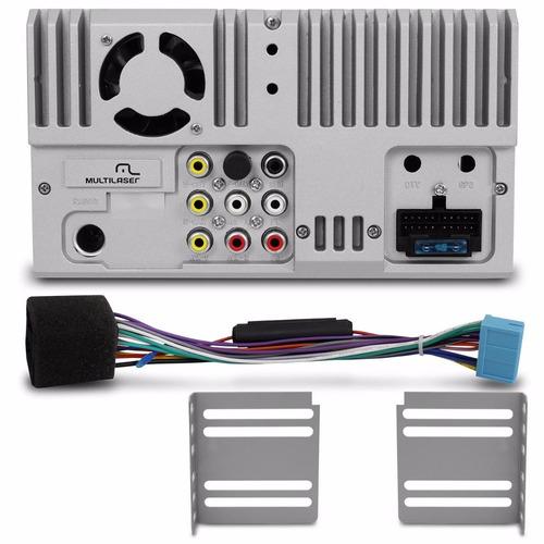 central multimidia 6,2 pol touch usb bt  outlet multilaser