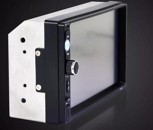 central multimídia 7 polegadas bluetooth câmera ré colorida
