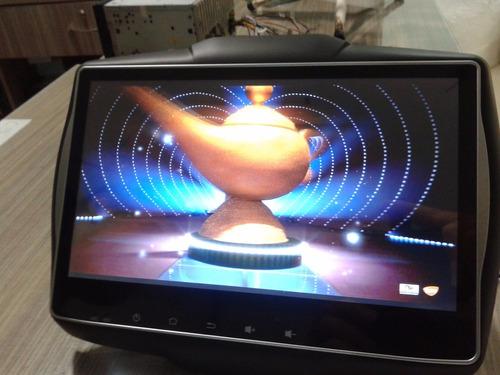 central multimídia android hetzer renegade tela 10´ pcd dvd