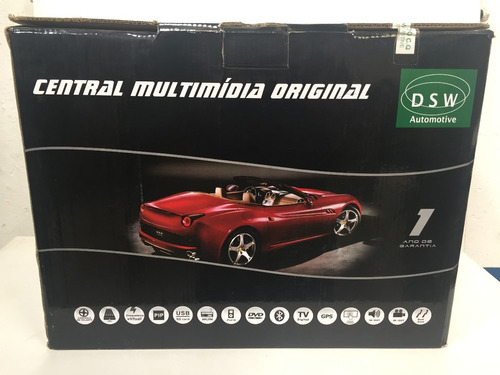 central multimídia dsw original sonic lt / ltz