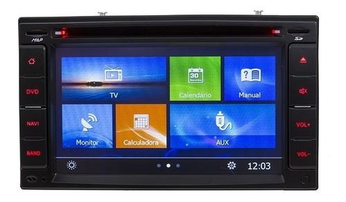 central multimidia dvd automotivo tv gps bluetooth 3g e wifi