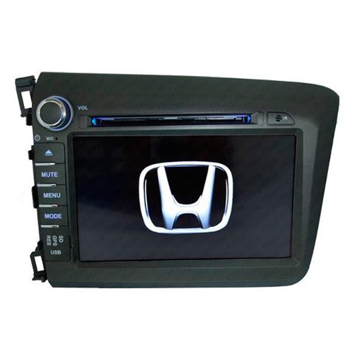 central multimídia dvd honda civic 2012 a 2015
