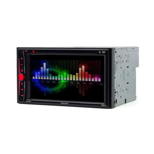 central multimidia dvd pioneer 2 din + tv digital + camera