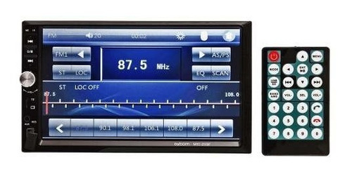 central multimídia hond fit  2004 mp5  bluetooth usb fm